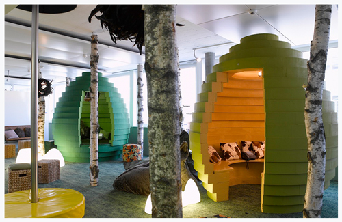 Google HQ Zurich — Meeting Eggs